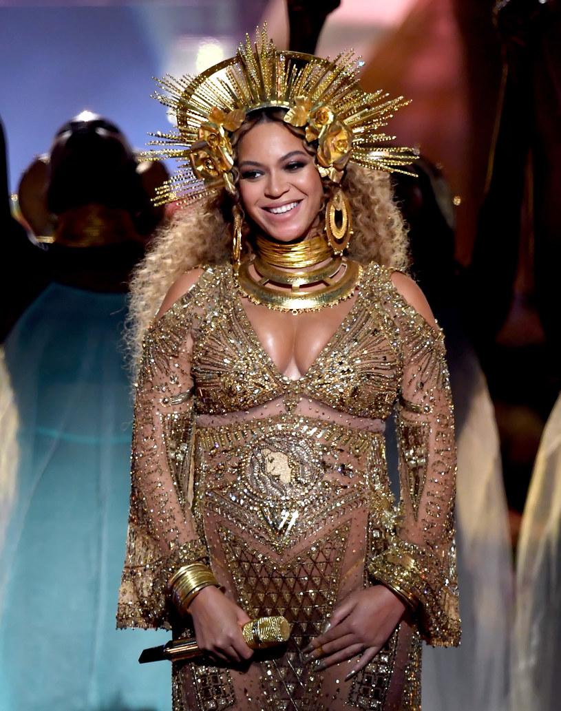 Ciężarna Beyonce była jedną z gwiazd gali Grammy 2017. /Kevin Winter /Getty Images