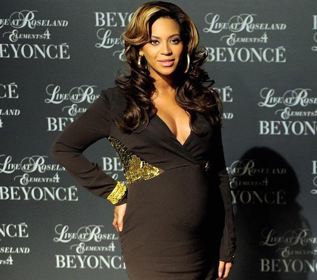 Ciężarna Beyonce w listopadzie 2011 roku - fot. Jemal Countess /Getty Images/Flash Press Media