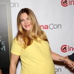 Ciężarna Drew Barrymore z ogromnym brzuchem!