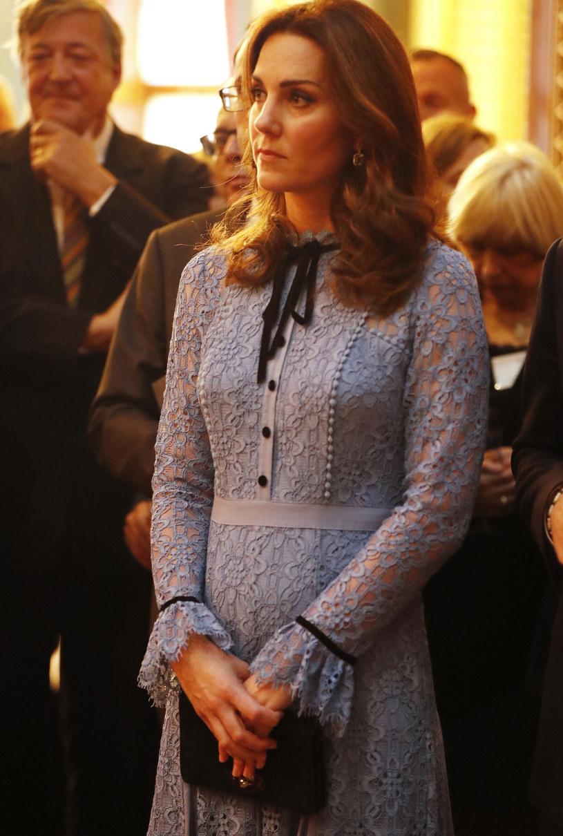 Ciężarna księżna Kate /HEATHCLIFF O'MALLEY /East News