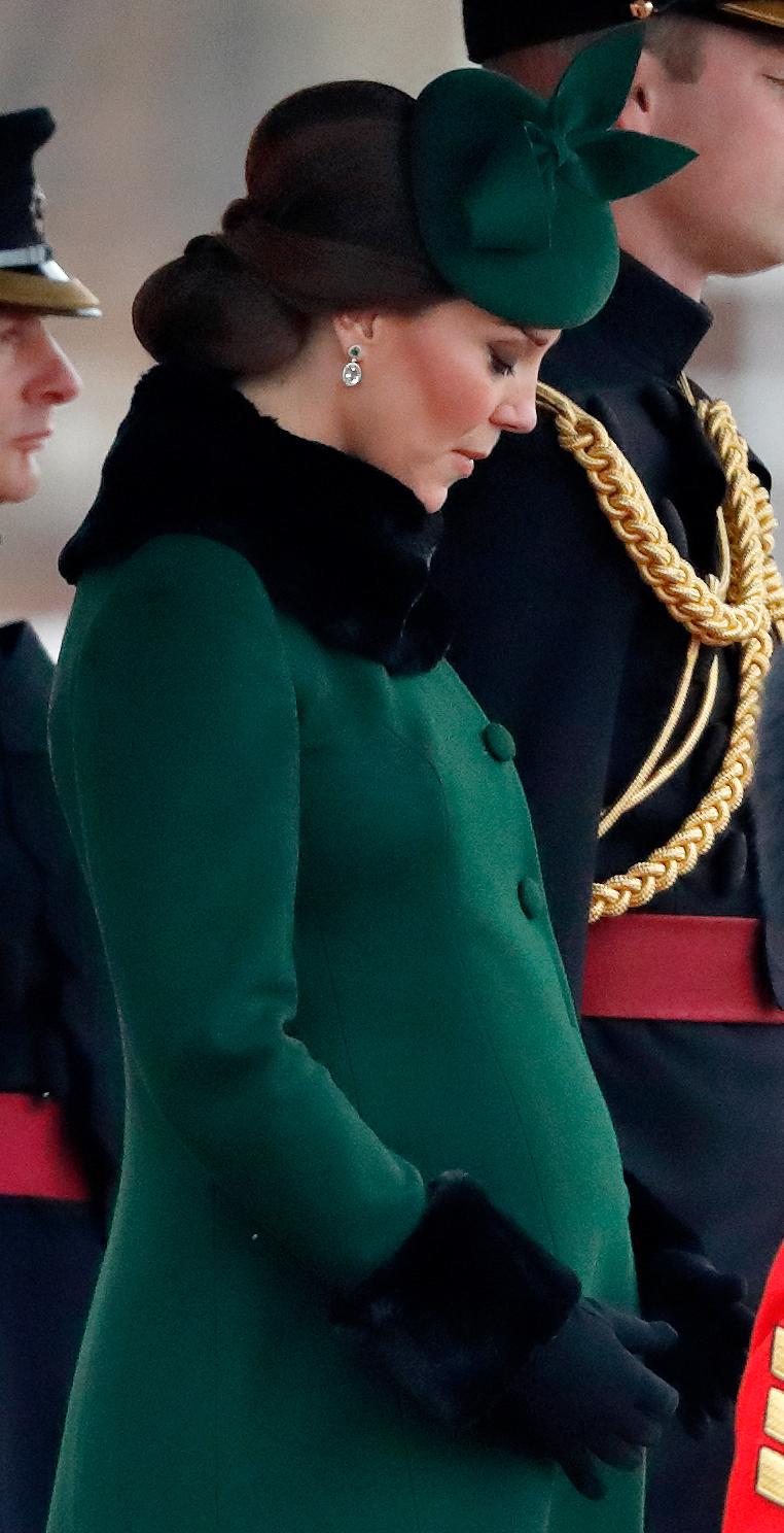 Ciężarna księżna Kate /Max Mumbly /Getty Images