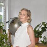 Ciężarna Lara Gessler nago w centrum Warszawy