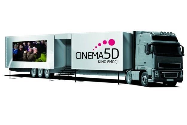 Ciężarówka Cinema 5D Kino Emocji /materiały prasowe