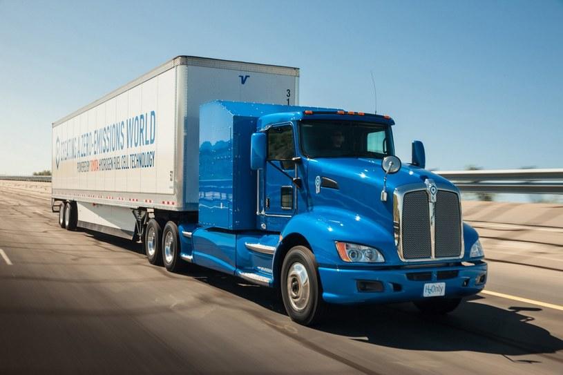 Ciężarówka wykorzystująca ogniwa paliwowe /