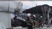 Ciężkie walki na Ukrainie. Wstrząsający krajobraz