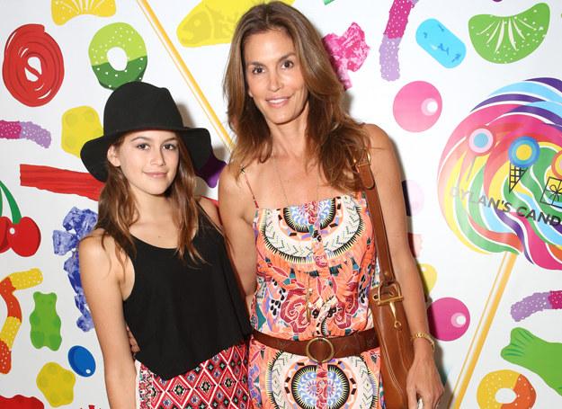 Cindy Crawford i jej córka Kaia, podobne? /Getty Images