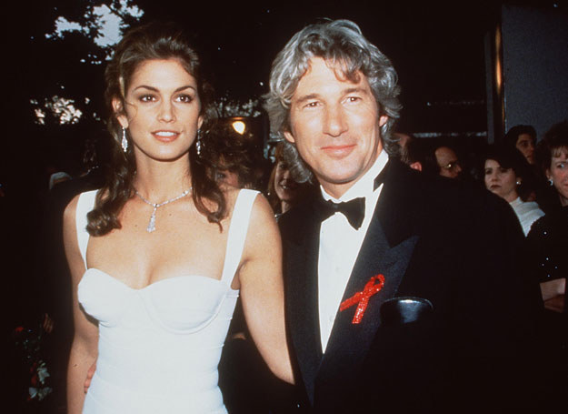 Cindy Crawford i Richard Gere /Getty Images/Flash Press Media