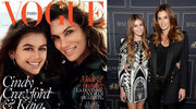 """Cindy Crawford z córką na okładce """"Vogue'a"""""""