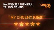 Cinema City otwiera kina 22 lipca