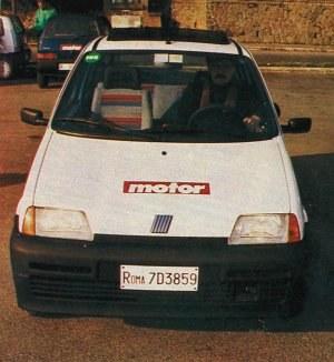 Cinquecento w Cinecitta /Motor