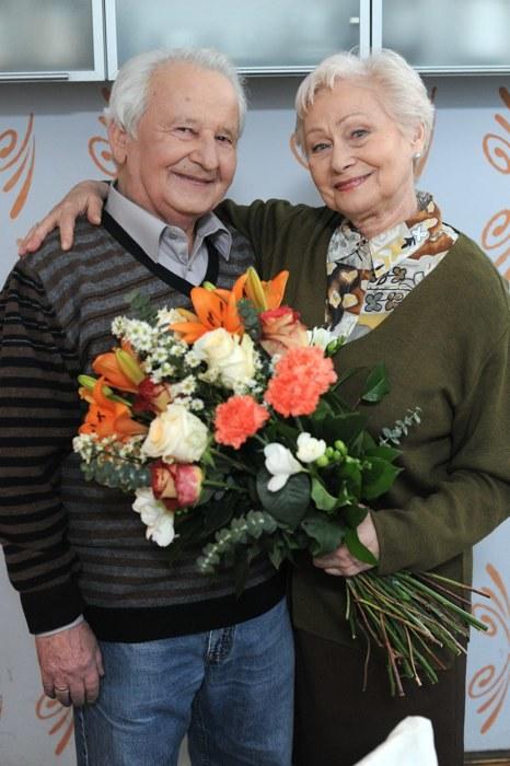 Ciocia Stasia (Kazimiera Utrata) i pan Jeremiasz (Wincenty Grabarczyk) /Agencja W. Impact
