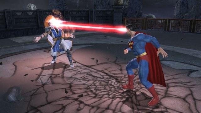Ciosy komiksowych bohaterów zapożyczone zostały od byłych zawodników turnieju Mortal Kombat /INTERIA.PL