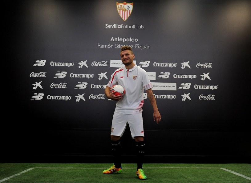Ciro Immobile już w barwach Sevilli /AFP