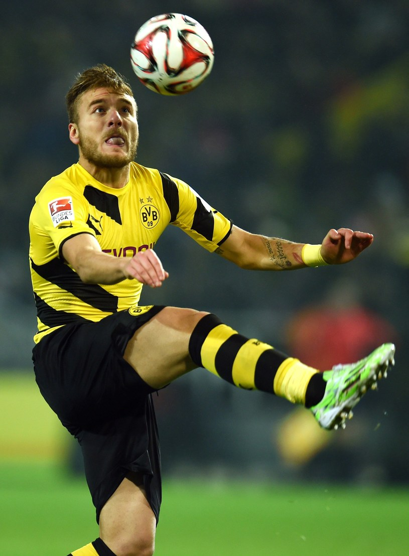 Ciro Immobile, piłkarz Borussii Dortmund /AFP
