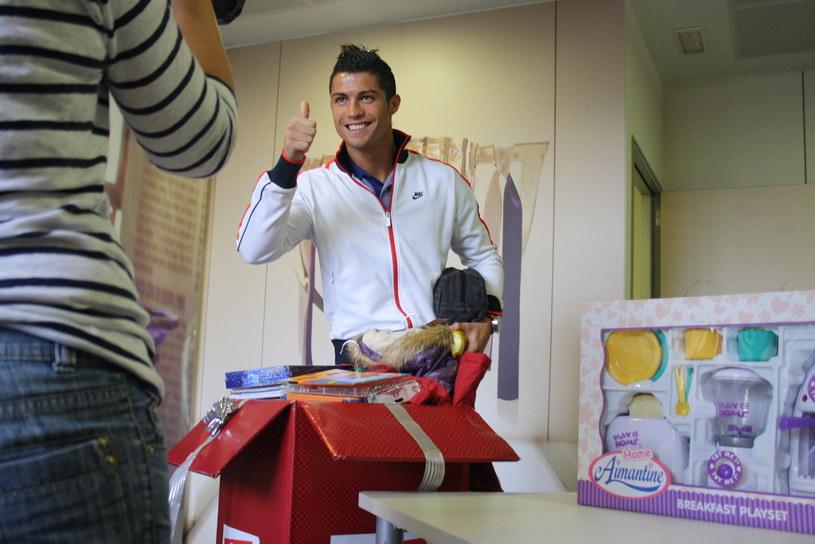 Cirstiano Ronaldo wspiera Szlachetną Paczkę /materiały prasowe