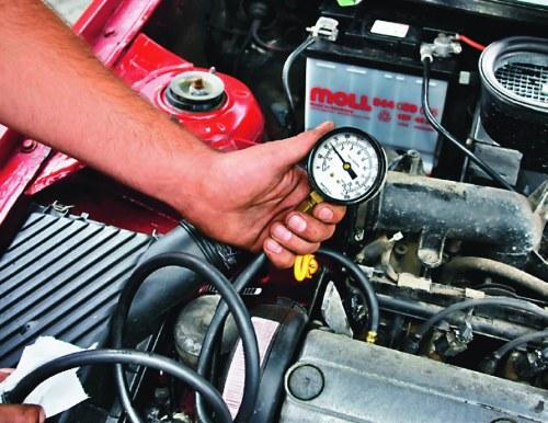 ciśnienie oleju /Motor