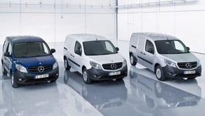 Citan - dostawcza nowość Mercedesa