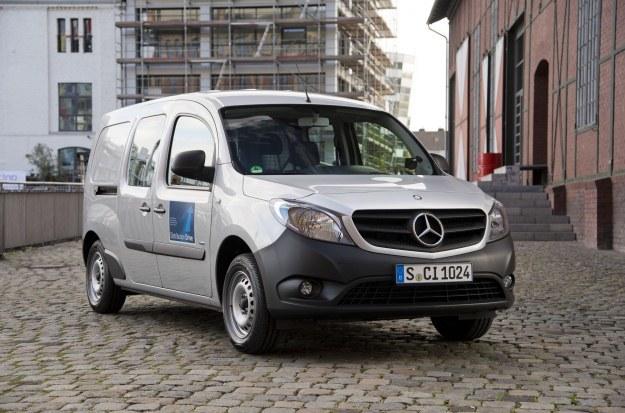 Citan to pierwszy Mercedes zbudowany na bazie Renault /