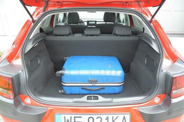 Citroen C4 Cactus (2014-)  bagażnik /Motor