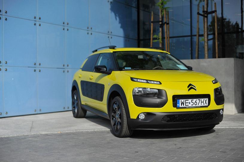 Citroën C4 Cactus podczas prezentacji w Łodzi /materiały prasowe