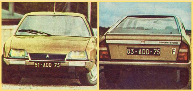 Citroen CX. Przypomina on produkowany nadal model GS. W reflektorach osadzane są standardowo żarówki halogenowe. Na szybie pracuje tylko jedna wycieraczka. Szyba tylna, na żądanie z ogrzewaniem, jest nieco wklęsła. /Motor
