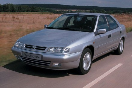 Citroen xantia, model po liftingu w 1997 roku /