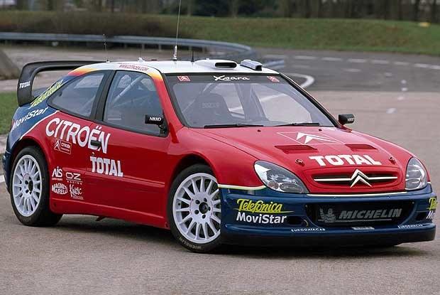 Citroen Xsara WRC (kliknij) /INTERIA.PL
