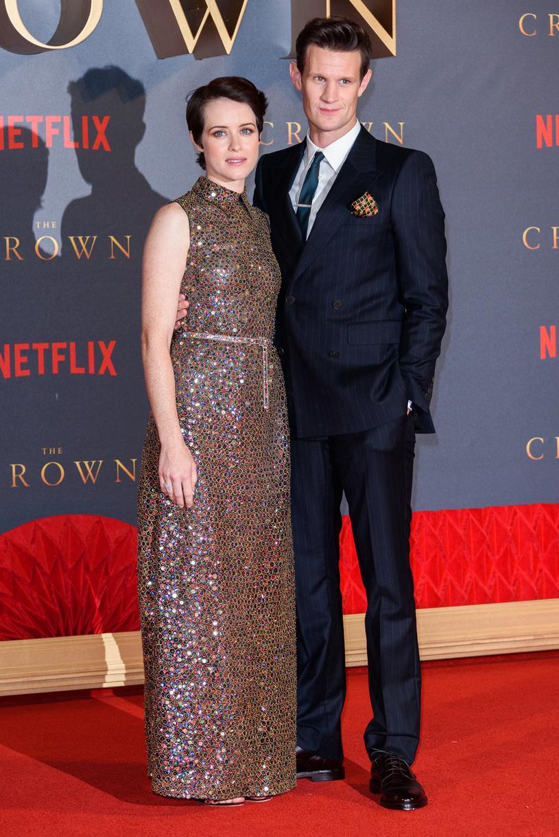 Claire Foy i Matt Smith /Joe Maher /Getty Images