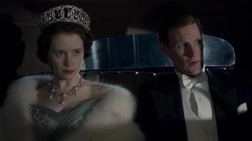 Claire Foy jako Elżbieta II i Matt Smith jako Książę Filip /materiały prasowe