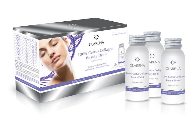 Clarena 100% Certus Collagen Beauty Drink /materiały prasowe