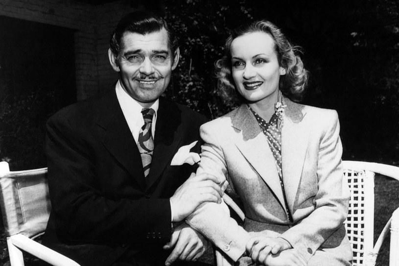 Clark Gable i Carole Lombard/fot. Album Online /East News