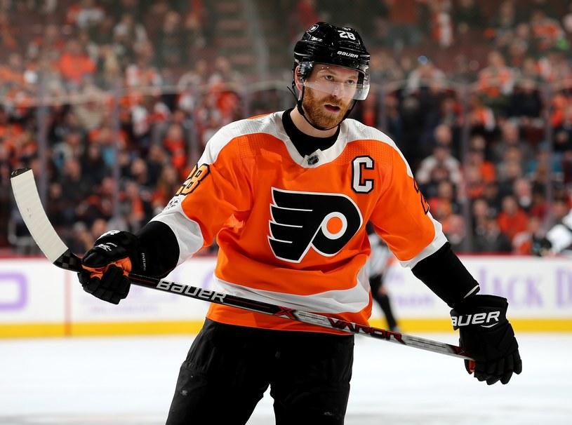 Claude Giroux z Philadelphia Flyers /AFP