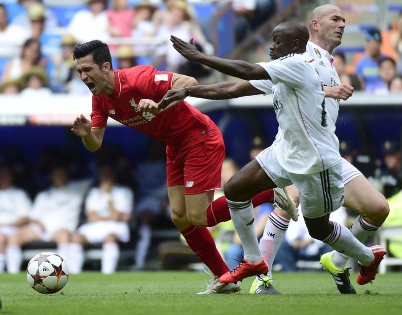 Claude Makelele (w środku) wzmocni sztab trenerski Swansea City /AFP /AFP