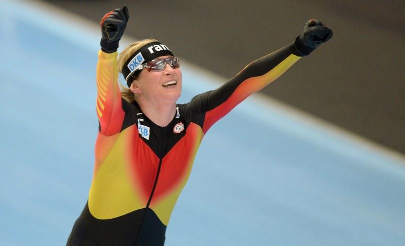 Claudia Pechstein nie zamierza jeszcze kończyć kariery /AFP