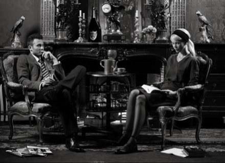 Claudia Schiffer jako ucieleśnienie męskich fantazji /materiały prasowe