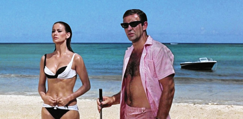 Claudine Auger i Sean Connery /Collection Christophel /East News