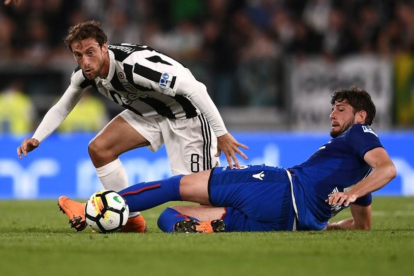 Claudio Marchisio (z lewej) /AFP
