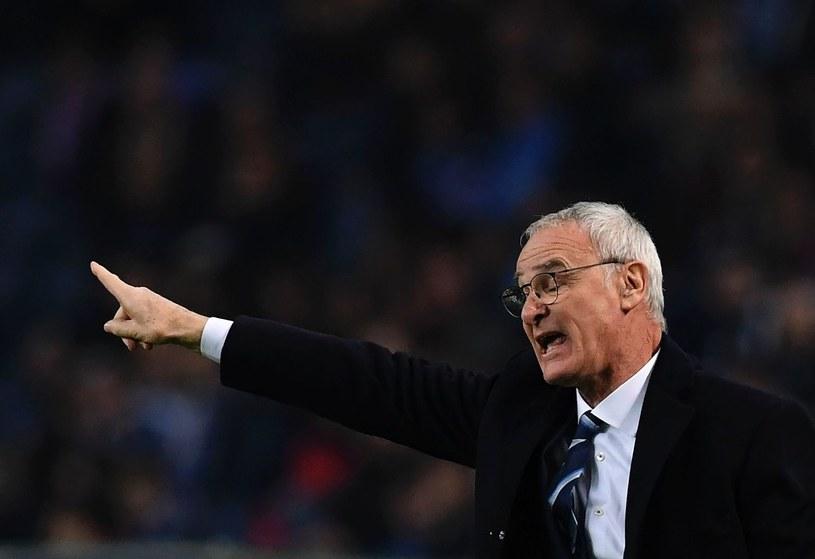 """Claudio Ranieri nie mógł być zadowolony z postawy """"Lisów"""" /AFP"""
