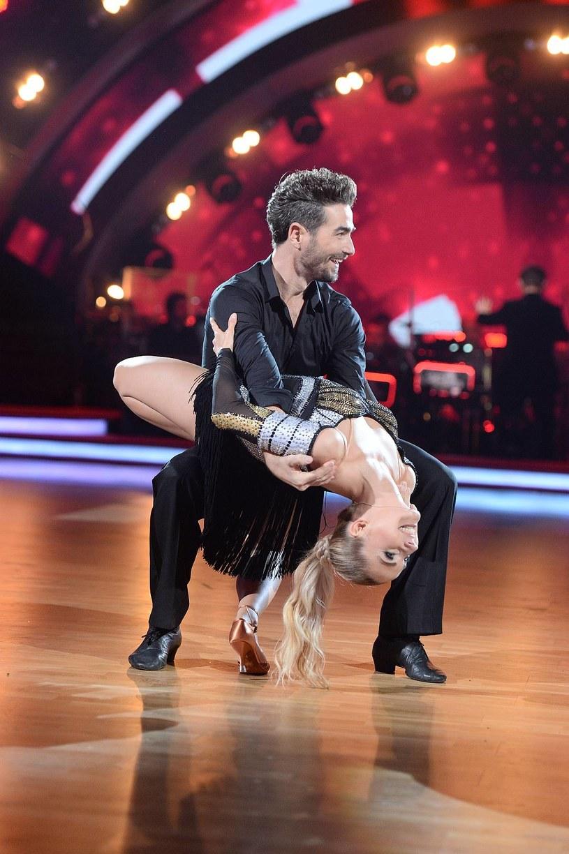 """Cleo i Jan Kliment na parkiecie """"Dancing with the Stars. Taniec z gwiazdami"""" /Polsat"""
