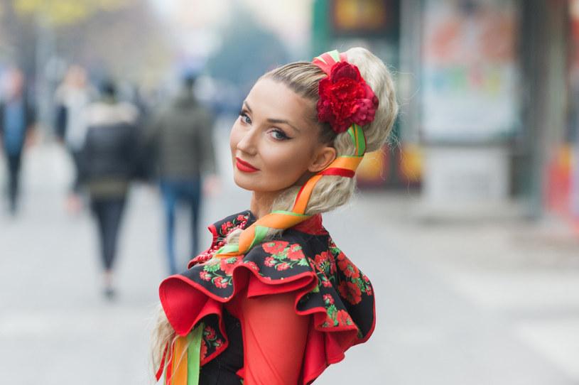 Cleo jest dumna ze swojego słowiańskiego pochodzenia /Artur Zawadzki /Reporter