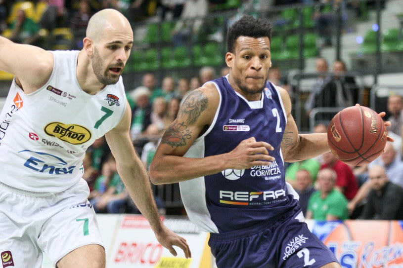 Cleveland Melvin (z prawej) / Lech Muszyński    /PAP