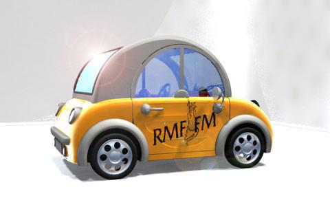 Clic Mini w barwach RMF.FM (kliknij) /INTERIA.PL