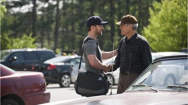 Clint Eastwod jest już kumplem Justina Timberlake'a? /materiały prasowe