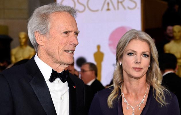 Clint Eastwood i Christina Sandera /Kevork Djansezian /Getty Images