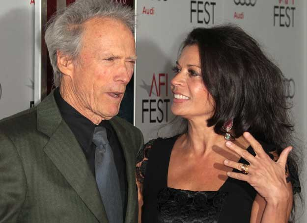 Clint Eastwood i Dina Eastwood /Getty Images/Flash Press Media