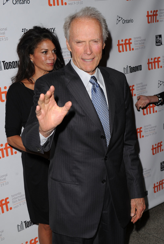 Clint Eastwood z żoną Diną /Jason Merritt /Getty Images