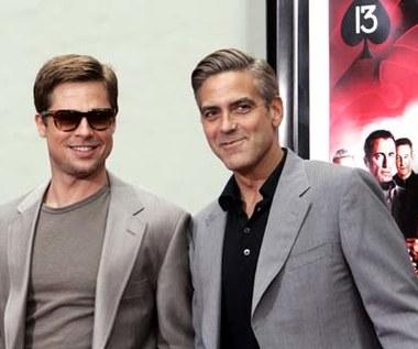 Clooney i Pitt w Alei Sław