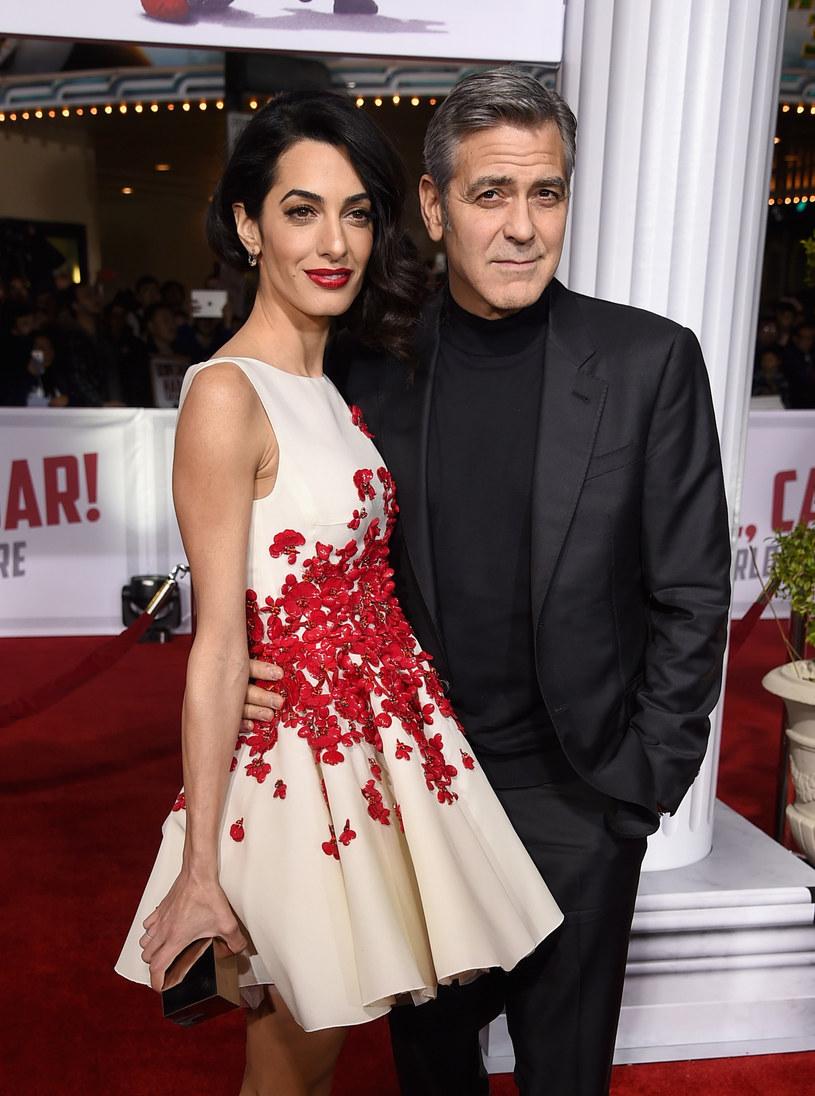 Clooney zdementował plotki o ciąży żony /Kevin Winter /Getty Images