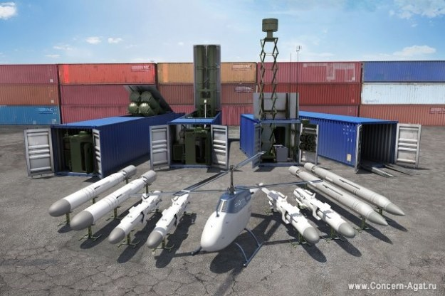 Club-K Container Missile System                   Fot.  Concern Morinformsystem-Agat /materiały prasowe