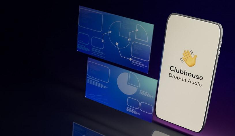 Clubhouse powoli zyskuje popularność /123RF/PICSEL